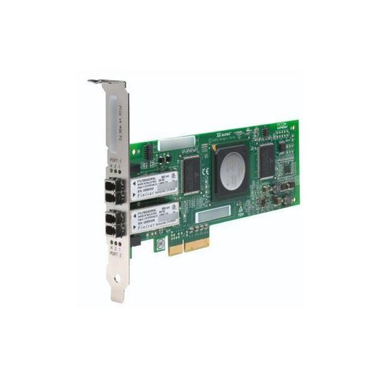 StorageWorks FC1242SR - Hostbus-Adapter - PCIe4Gb Fibre Channel x 2, für Modular Smart Array P2000 3.5-in, P2000 G3; ProLiant DL165 G7, DL360 G7, DL380 G6
